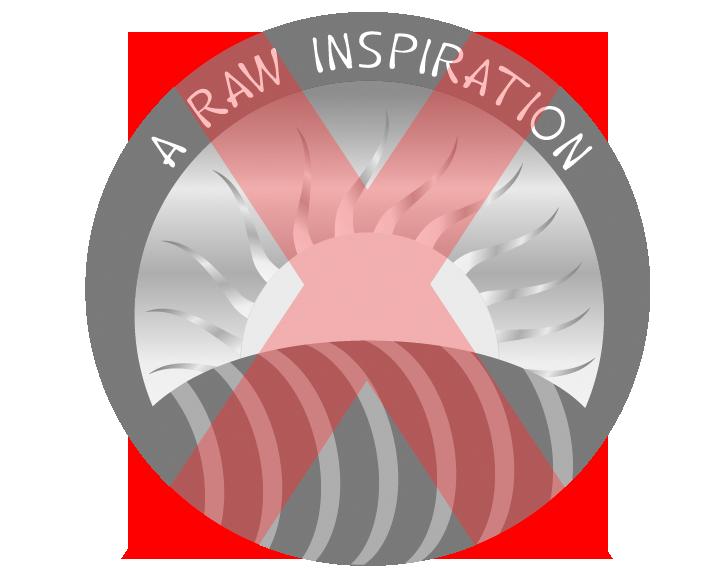 A Raw Inspiration - Black & White Logo - Default Conversion