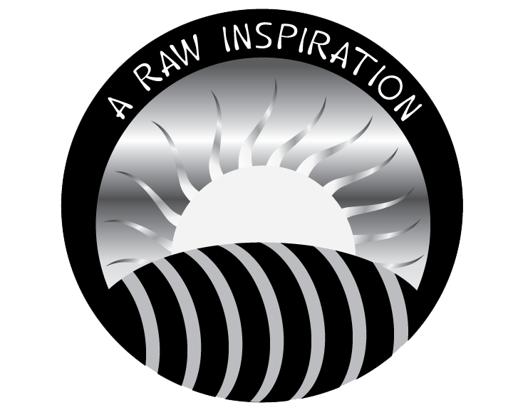 A Raw Inspiration - Black & White Logo