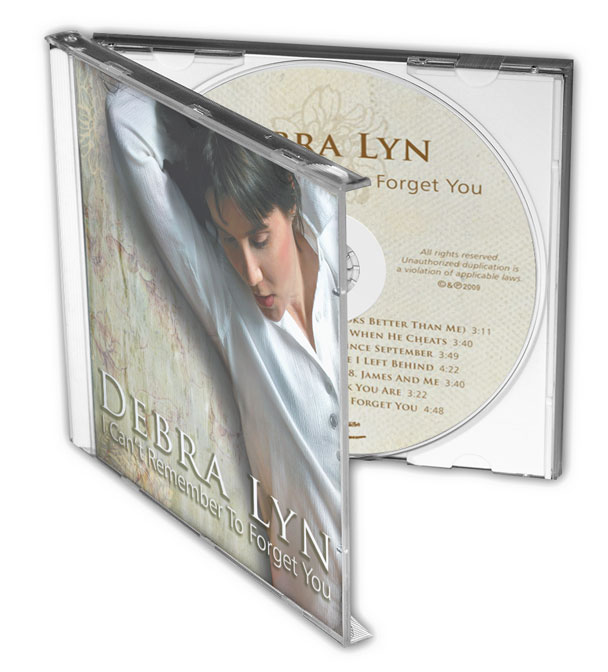 Debra Lyn - I Can't Remember To Forget You - Front Cover