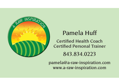 A Raw Inspiration Nashville Business Card Design