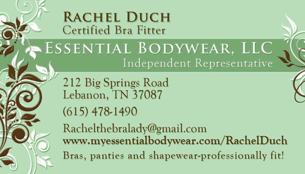 Essential Bodywear Business Card-front