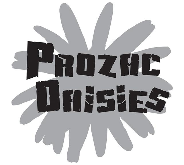 Prozac Daisies Logo - Gray Logo