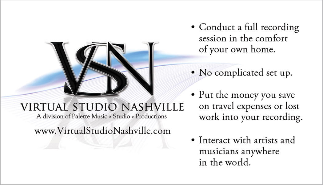 Virtual Studio Nashville Business Card