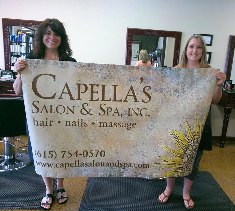 Capella's Salon & Spa Banner