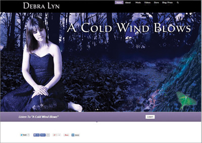 Debra Lyn – Nashville Website Design