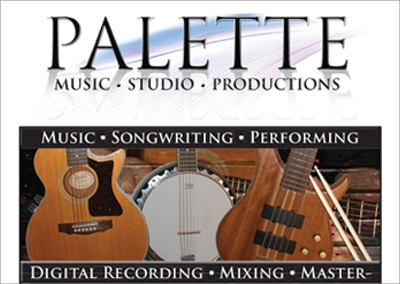 Palette Music Nashville Brochure Design
