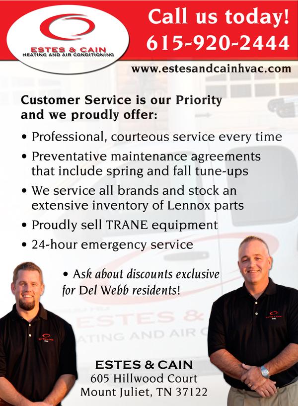 Estes & Cain - Del Webb Advertisement #1