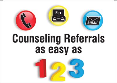 Hendrick Counseling – Easy as 123 – Nashville Flyer Design