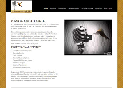 Inspirational Media – Nashville Website Design