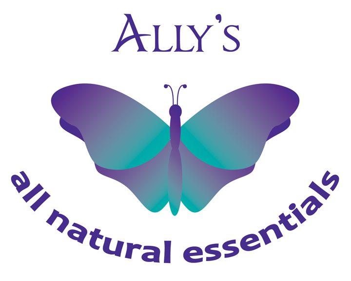 Ally's All Natural Essentials Logo