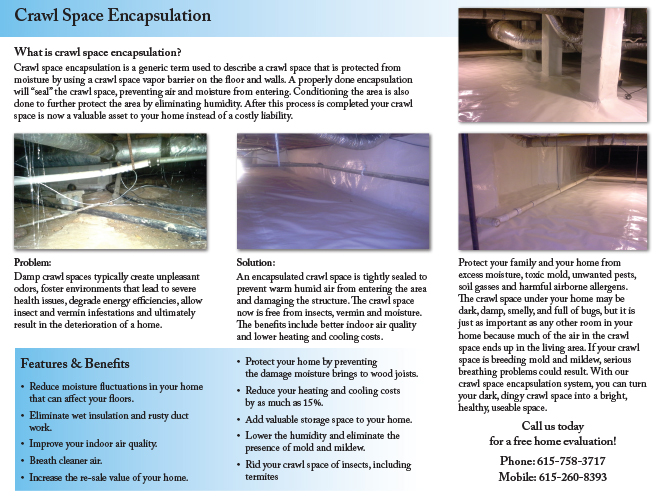 Clean Air Company Brochure (Inside)