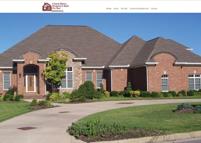 DB Construction-Middle TN Custom Home Builder Website