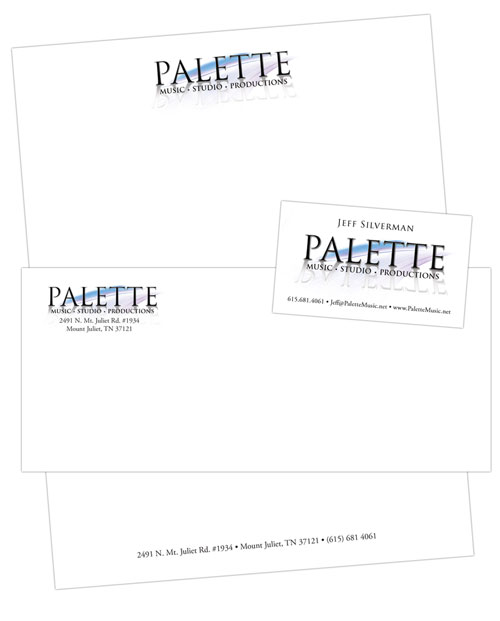 Mt. Juliet Letterhead, Envelopes, Business Cards