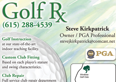 Golf RX – Advertisement Design