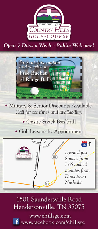 Country Hills Golf Course Rack Card (Side2)