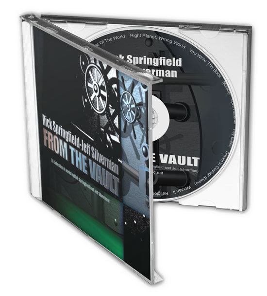 Rick Springfield-Jeff Silverman-From The Vault-Nashville CD Design