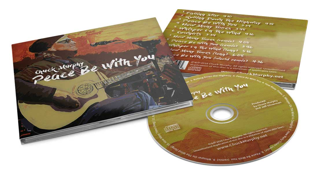 Chuck Murphy - Peace Be With You - Digipak Design