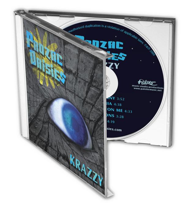 Prozac Daisies - Krazzy - Nashville-Mt. Juliet CD Design - CD Case