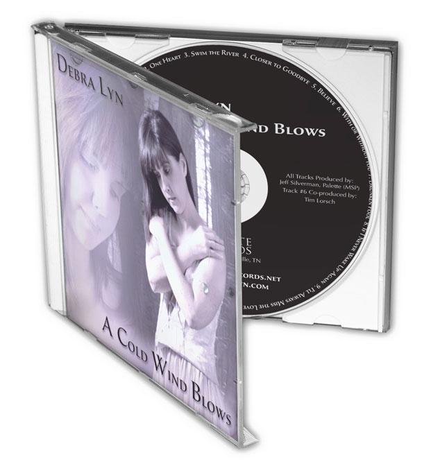 Debra Lyn - A Cold Wind Blows - Nashville-Mt. Juliet CD Design