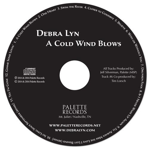 Debra Lyn-A Cold Wind Blows - Disc - Nashville-Mt. Juliet CD Design