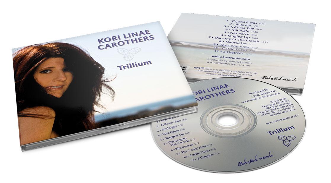Kori Carothers - Trillium - Digipak Design