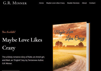 GR Minner-Tennessee Author Website