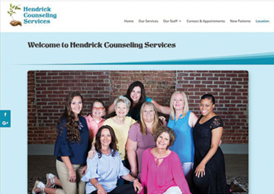 Lebanon Website Design-Hendrick Counseling Services