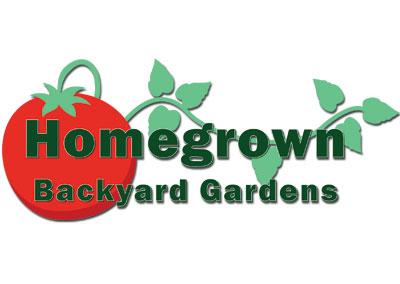 Homegrown Backyard Gardens-Mt. Juliet Logo Design