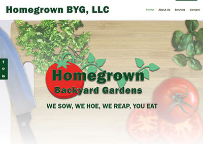 Mt Juliet Website Design-Homegrown BYG Website