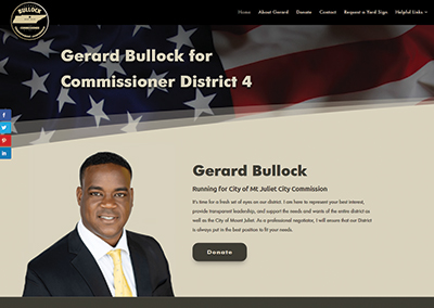 Gerard Bullock – Mt. Juliet Political Website