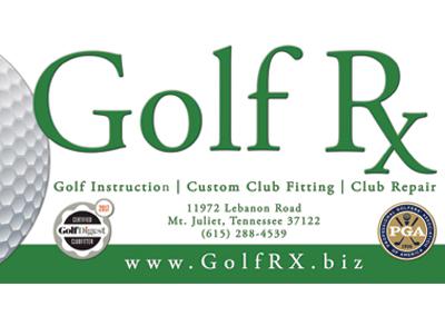 Golf Rx Banner