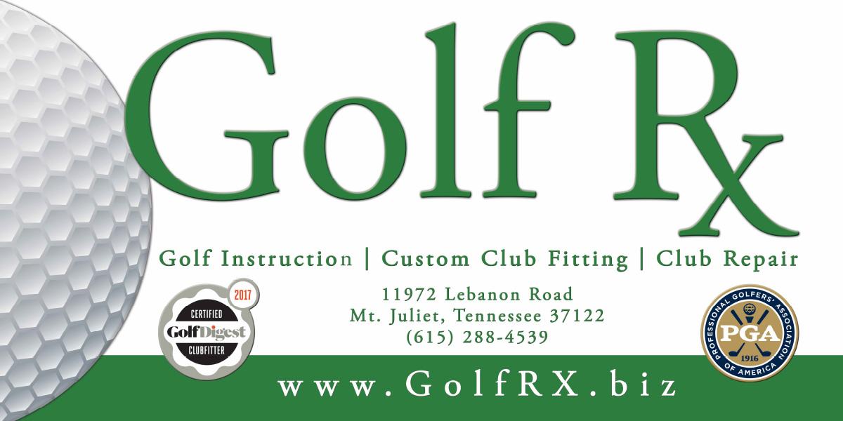 Golf Rx - Mount Juliet Banner Design