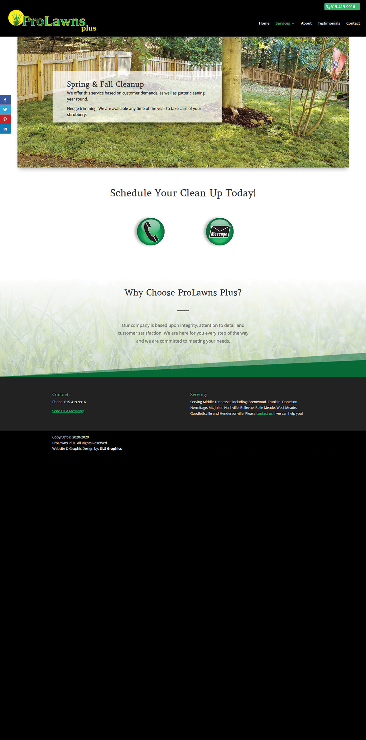 ProLawns Plus-Spring and Fall Cleanup
